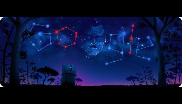 Google homenajea con un doodle al astrónomo mexicano Guillermo Haró
