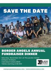 Border Angels Annual Fundraiser Dinner