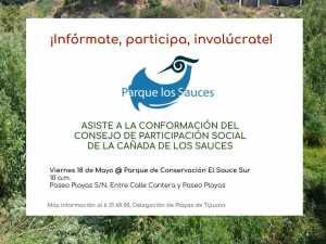 Conformación del Consejo de Participación Social de La Cañada Los Sauces @ Tijuana | Baja California | México
