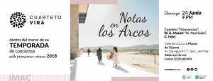 Notas en Los Arcos: Cuarteto Virá @ Casa de Cultura Playas