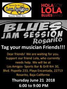 Blues Jam Session Rosarito