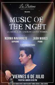 Music of The Night @ La Boheme | Tijuana | Baja California | México