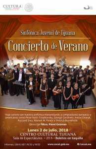 Concierto de Verano de la Sinfónica Juvenil de Tijuana @ Centro Cultural Tijuana | Tijuana | Baja California | México