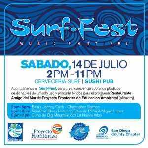 Surf Fest Music Festival @ Cervecería Surf/Sushi Pub | Rosarito | Baja California | México
