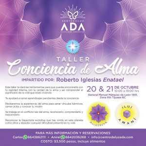 """Asiste al taller """"Conciencia del Alma"""", en Tijuana"""