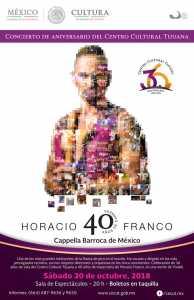 En el CECUT: Capella Barroca de México, del flautista Horacio Franco @ CECUT