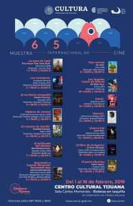 65 Muestra Internacional de Cine en la Sala Carlos Monsiváis