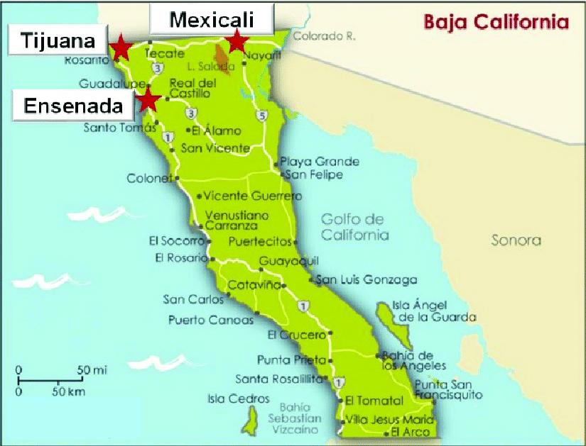 Resultado de imagen de baja california