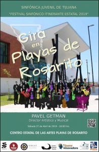 Sinfónica Juvenil de Tijuana: Gira en Playas de Rosarito @ CEART Rosarito