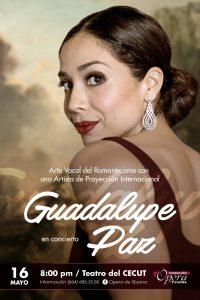 Guadalupe Paz en concierto