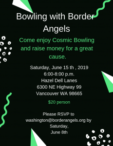 Bowling with Border Angels