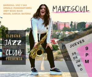 Marisoul en Tijuana Jazz Club