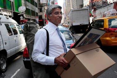 La quiebra de Lehman Brothers y el despido de todos sus trabajadores dio inicio a la crisis financiera mundial en 2008
