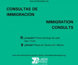 Border Angels: Consultas de Inmigración