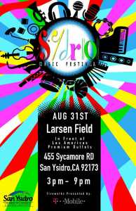 SYDRO Music Festival @ Larsen Field | San Diego | California | Estados Unidos