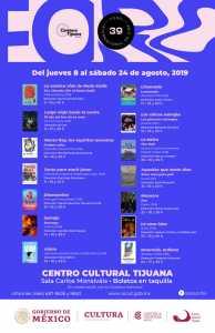 Proyectará el CECUT Foro Internacional de la Cineteca