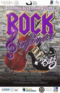 Sinfónica Juvenil de Tijuana presenta su gran concierto de octubre: Rock Sinfónico ¡Aparta la fecha!