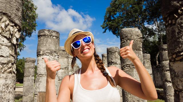Derrama de turismo extranjero en México