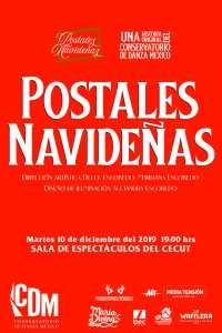 Conservatorio de Danza México invita a presentación: Postales Navideñas @ CECUT