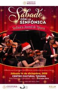 Sábados con la Sinfónica Juvenil de Tijuana
