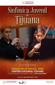 Sábados con la Sinfónica Juvenil de Tijuana: Concierto de Solistas @ Cecut
