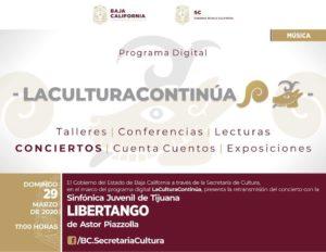 Programa Digital: Libertango con el Cuarteto de Cellos de la Sinfónica Juvenil de Tijuana