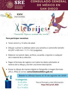 """XXIV Concurso de Dibujo: """"Este es mi Mexico"""""""