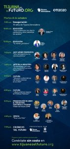 Tijuana Innovadora 2020 programa 6 octubre