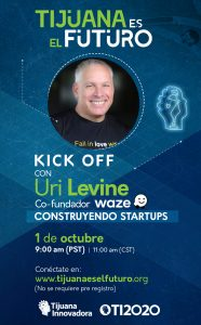 Kick Off con Uri Levine cofundador de Waze