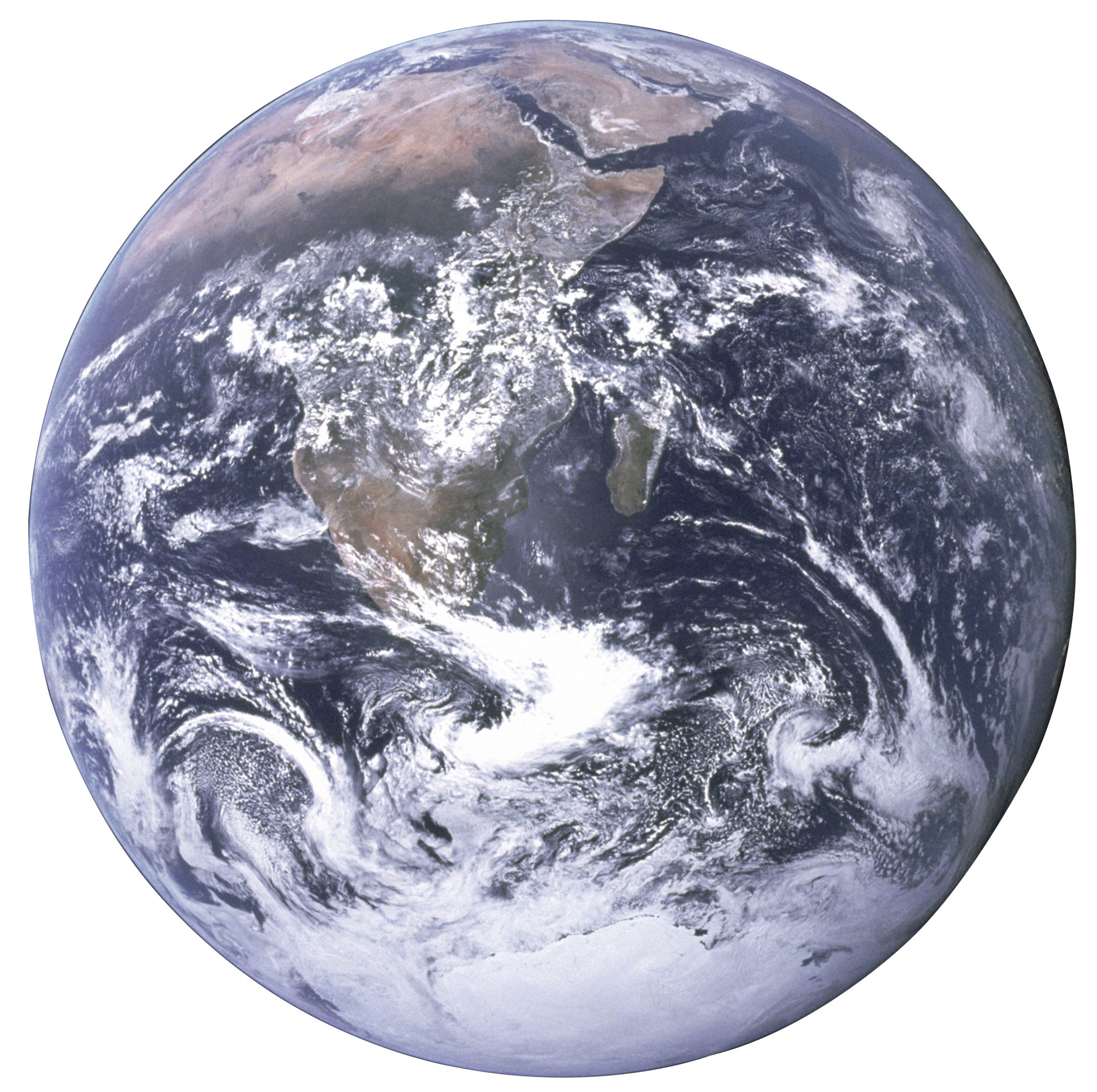 the Earth seen_from Apollo_17