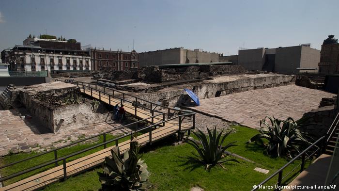 Templo Mayor de Tenochtitlán, en la Ciudad de México.